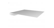 Металлические доборные элементы для фасада в Чехове Планка завершающая простая 65мм
