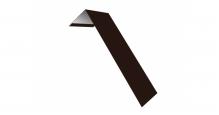 Металлические доборные элементы для фасада в Чехове Планка лобовая/околооконная простая 190х50